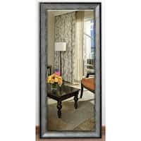 US Made Sterling Charcoal Beveled Full Body Mirror