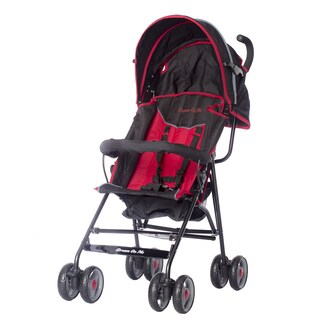 Dream on Me Galaxy Dark Red and Black Plastic Stroller