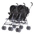 Dream On Me 'Dary' Grey Plastic Twin Stroller