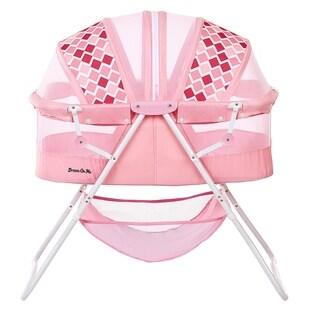 Dream on Me Rose Karley Pink Plastic Bassinet