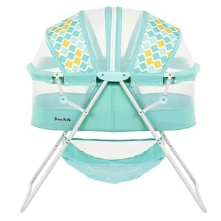 Dream on Me Aqua Blue Plastic Karley Bassinet
