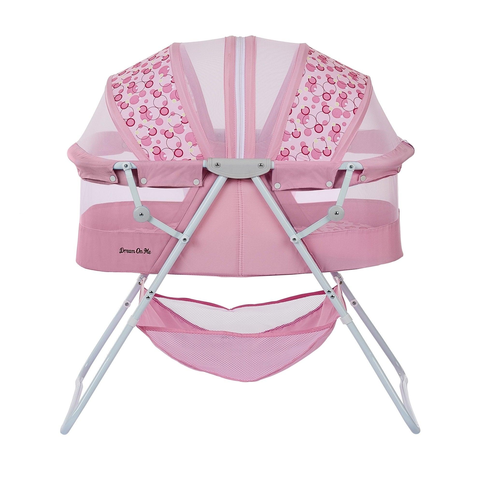Dreamonme Pink Karley Bassinet (Pink)