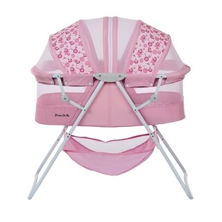 Dream on Me Pink Karley Bassinet