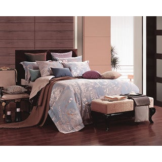 Dolce Mela Jacquard Damask Luxury 6 Piece Duvet Cover Set (2 options available)