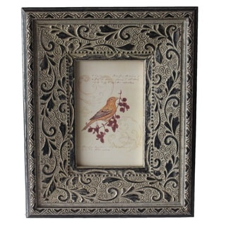 Jeco Grey Wood 4-inch x 6-inch Photo Frame