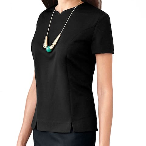 Affinity Apparel Women's Tailored Blouse