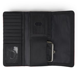 Kenneth Cole Reaction Women's Trifold Elongated Clutch Wallet