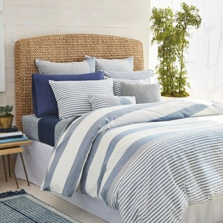 Nautica Fairwater Navy and White Nautical Comforter Set