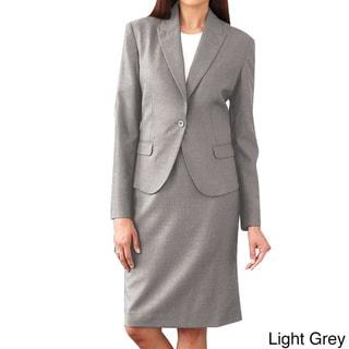 Affinity Apparel Ladies' Single-button Blazer