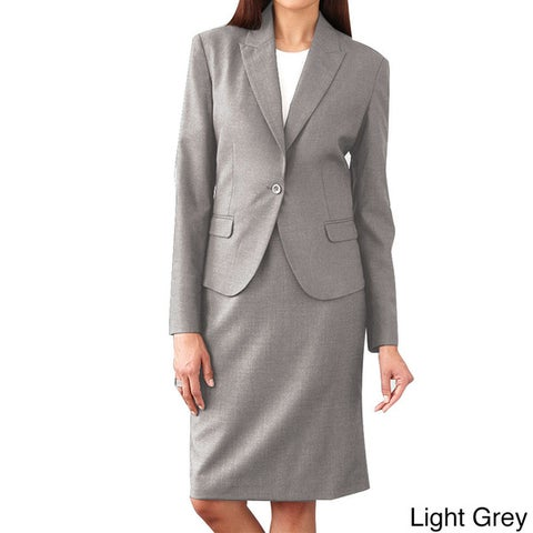 Affinity Apparel Ladies' Single-button Blazer