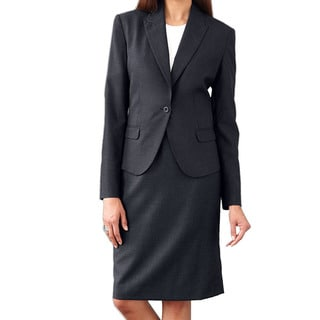 Link to Affinity Apparel Ladies' Single-button Black Blazer Size 10 - 4 Pocket (As Is Item) Similar Items in As Is