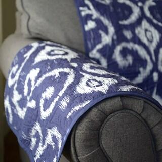 Journee Home 'Allegra' Reversible Printed Chair Protector