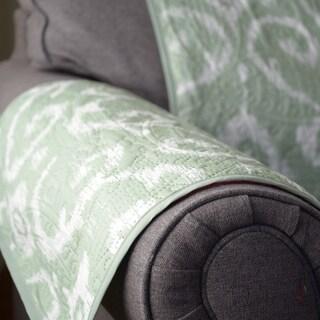 Journee Home 'Massimo' Reversible Printed Loveseat Protector