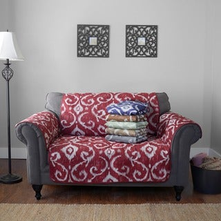 Journee Home 'Massimo' Reversible Printed Loveseat Protector