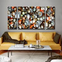 Ready2HangArt 'Copper, Iron, Jade' by Norman Wyatt, Jr. Canvas Art