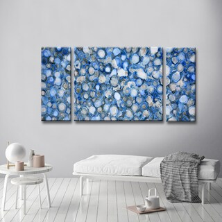 Arctic River Stones' by Norman Wyatt, Jr. Wrapped Canvas Wall Art