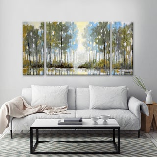 Ready2HangArt 'Lakeside View III' by Norman Wyatt, Jr. Canvas Art