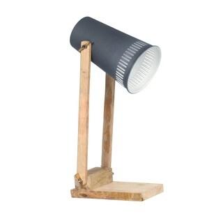 Aurelle Home Classic Modern American Grey Table Lamp
