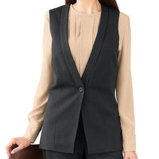 Affinity Apparel Women's Single-button Fashion Vest|https://ak1.ostkcdn.com/images/products/14356305/P20932052.jpg?impolicy=medium