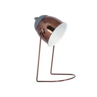 Aurelle Home Scandinavian Bronze Finish Table Lamp