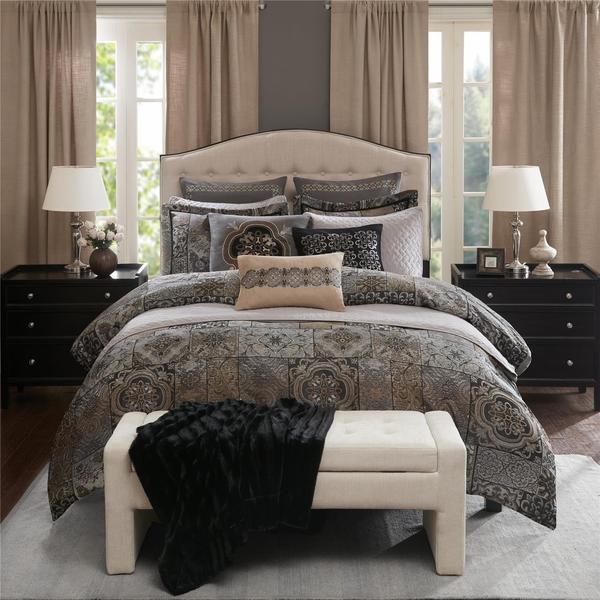 Madison Park Signature Dream Catcher Chenille Jaquard Comforter Set