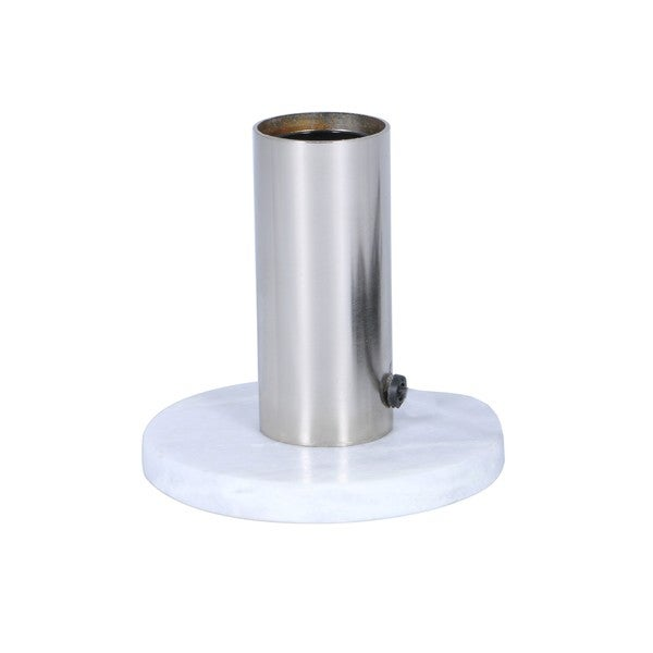 Aurelle Home Barron Table Lamp Nickel