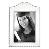 Reed & Barton Lyndon Silver Metal Curved 5-inch x 7-inch Photo Frame