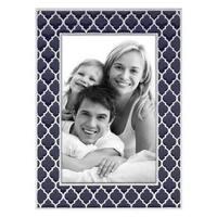 Reed & Barton Kasbah Blue Enamelware 4-inch x 6-inch Photo Frame