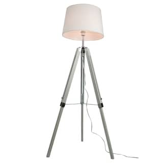 Euro Style Collection Rome 60-inch Adjustable Height Tripod Floor Lamp