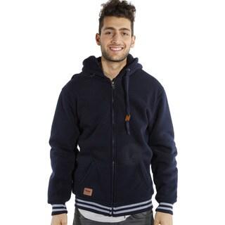 Rock Revolution Men's Solid Hooded Jacket