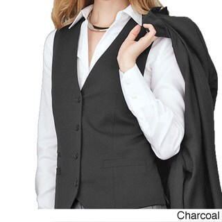 Affinity Apparel Ladies' Four-button Vest (More options available)