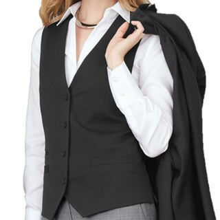 Affinity Apparel Ladies' Four-button Vest