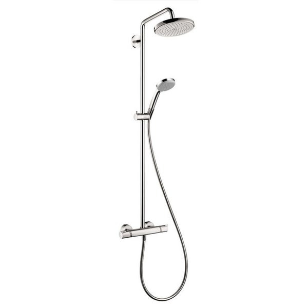 Shop Hansgrohe HG Showerpipe Croma 220 in Chrome - Ships To Canada ...