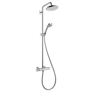 Hansgrohe HG Showerpipe Croma 220 in Chrome