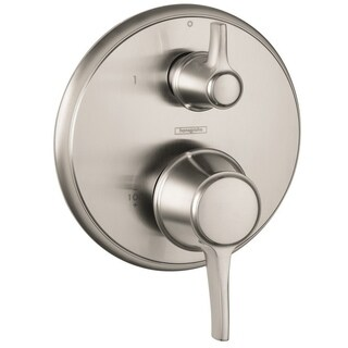 Hansgrohe HG C Pressure Balance/ Diverter Brushed Nickel Shower Trim
