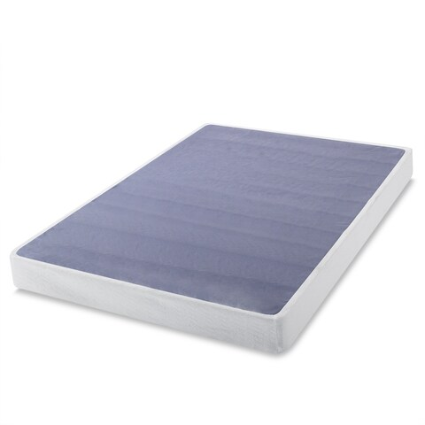 Priage 7-inch Twin-Size Box Spring Mattress Foundation - WHITE