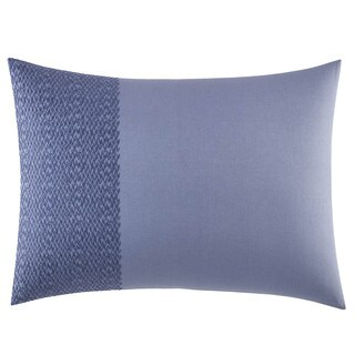 Vera Wang Chevron Cotton 15-inch x 20-inch Breakfast Pillow