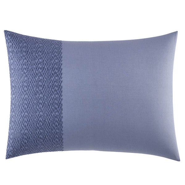Vera Wang Chevron Cotton 15-inch x 20-inch Breakfast Pillow