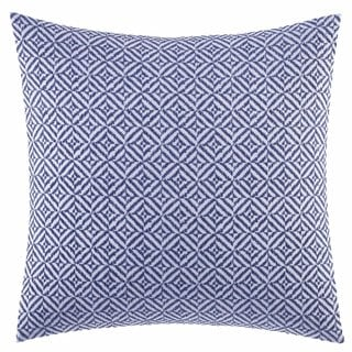 Vera Wang Chevron 18-Inch Decorative Pillow