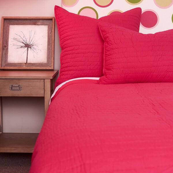 Brighton Hot Pink Cotton Quilt