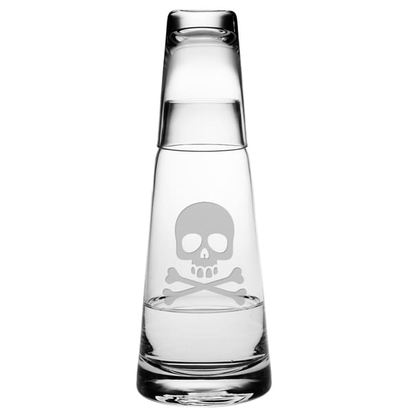 Skull & Crossbones Cone Night Bottle Set