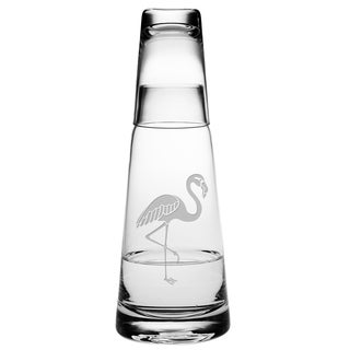 Flamingo Cone Night Bottle Set