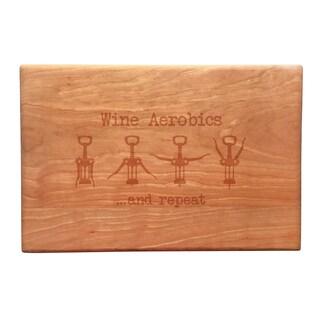 Wine Aerobics Artisan Cherry Board
