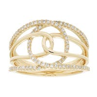 10k Gold 1/3ct TDW Diamond Ring