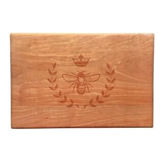 Vintage Bee Artisan Cherry Board