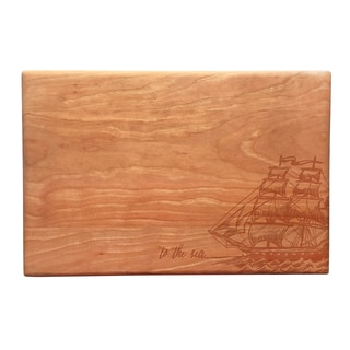 To the Sea Artisan Cherry Cutting Board