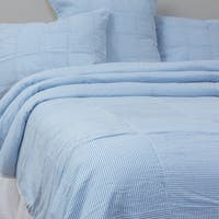 Ian Cotton Blue Quilt