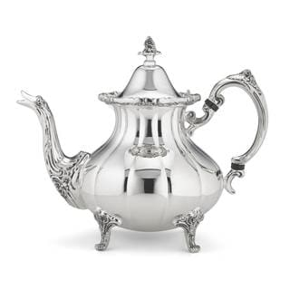 Reed & Barton Burgundy Silver-plated Tea Pot