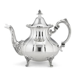 Reed & Barton Burgundy Silver-plated Tea Pot