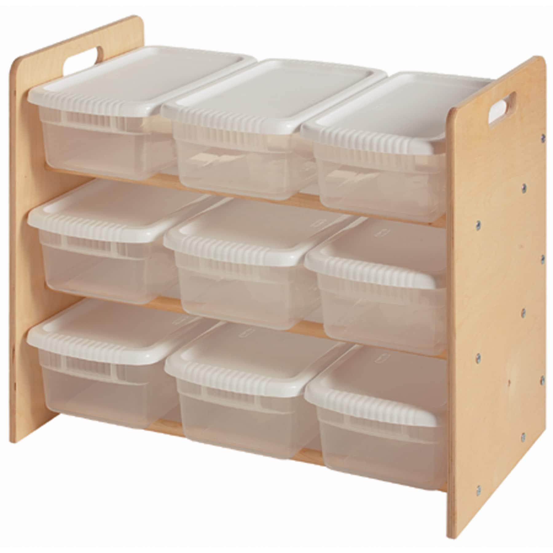 Little Colorado Plywood Nine-bin Toy Organizer (Unfinishe...